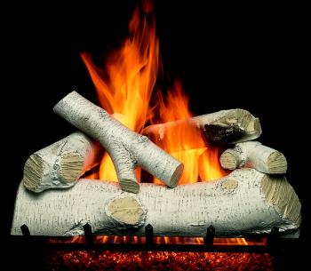 Portland New England Birch Gas Logs