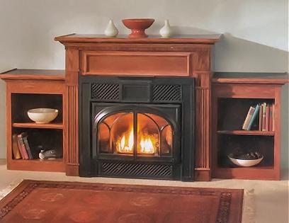 Premier Berkley Cabinet Fireplace Mantle