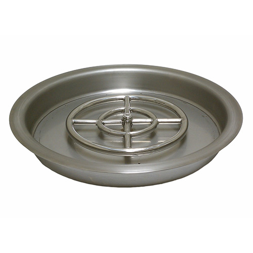 Round Drop-In Fire Pit Pan