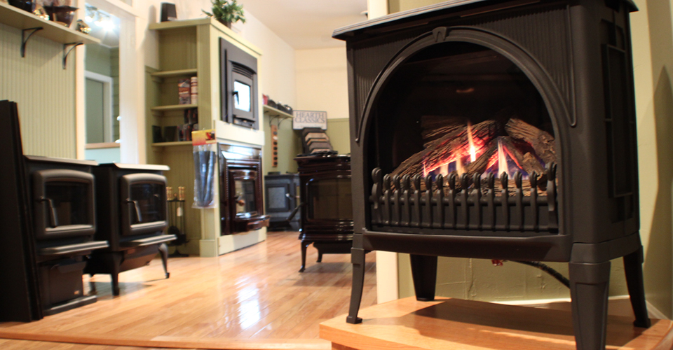 Check your gas or pellet stove, fireplace, logs, or unit for this season.
