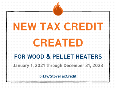2021 Wood and Pellet Heater Investment Tax Credit